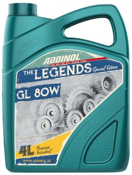ADDINOL LEGENDS GL 80W Getriebeöl 4 Liter