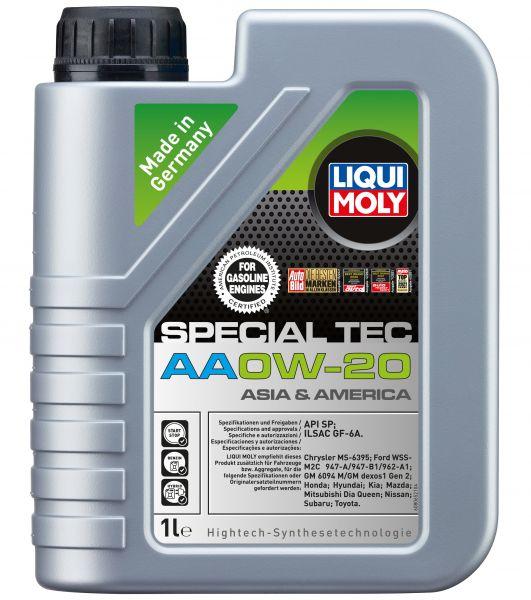 Liqui Moly Special Tec AA 0W-20 Motoröl 1 Liter