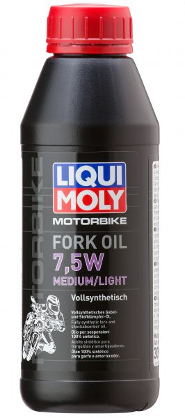 Liqui Moly Motorbike Fork Oil 7,5W Medium/Light 500 ml