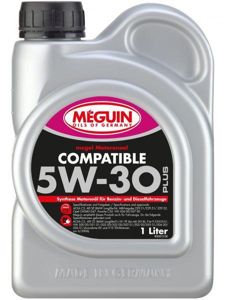 Meguin megol Compatible 5W-30 Plus Motoröl 1 Liter