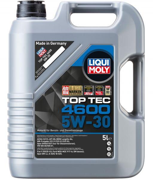 Liqui Moly Top Tec 4600 5W-30 Motoröl 5 Liter